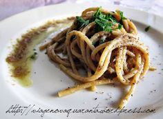 Bigoi in salsa Belluno Dolomiti Veneto Italia