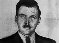 Photograph of Josef Mengele taken by a police photographer in 1956 in Buenos Aires for an Argentine identification document. (public domain)