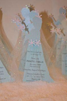 Frozen invites Elsa Invites Frozen 3D invitations by PoshMyParty, $43.00