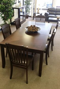 Perfect for a large family, this 6 seater dining room set is on sale for $831.00