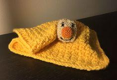 Blanket from brave little toaster pattern, eek Crochet Baby Toys, Crochet For Kids, Crochet Yarn, Crochet Blankets, Crochet Animals, Baby Blankets, Crotchet, Crochet Lovey Free Pattern, Free Crochet