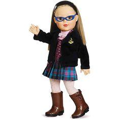 "18"" My Life As School Girl Dressed Doll- Madame Alexandra dolls at Walmart!!!!"