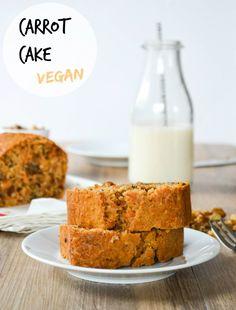 carrot cake vegan des fruits et des legumes 1 Easy Carrot Cake, Gluten Free Carrot Cake, Moist Carrot Cakes, Vegan Carrot Cakes, Gluten Free Muffins, Sweet Desserts, Vegan Desserts, Vegan Recipes, Sin Gluten