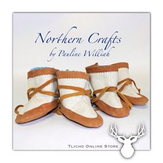 #Baby #Moccasin #Mukluks by Northern Crafts (#Yellowknife Store), by  Pauline Williah, #Tlicho Artisan.