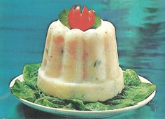 Clam and Cottage Cheese Mold.  I just can't imagine.......