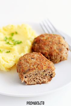 Meatloaf, Mashed Potatoes, Food And Drink, Cooking Recipes, Keto, Ethnic Recipes, Whipped Potatoes, Smash Potatoes, Chef Recipes