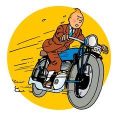 Tintin Moon, Comic Movies, Comic Books, Tintin Au Tibet, Album Tintin, Lotus Bleu, Captain Haddock, Lifelong Friends, Retro Art
