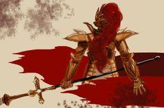 Dark Souls: Dragonslayer Ornstein by spazzmistic.deviantart.com on @DeviantArt