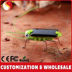 Solar toy: grasshopper