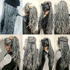 zenci örgüsü Black Girls Hairstyles, Pretty Hairstyles, Braided Hairstyles, Dreads, Beauty Tips For Hair, Hair Beauty, Twists, Black Girls Power, Curly Hair Styles