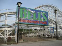 BELLS Amusement Park Tulsa, OK. Home of my first roller coaster ZINGO and the awesome ride Phantasmagoria. Part of my best childhood memories in Oklahoma.