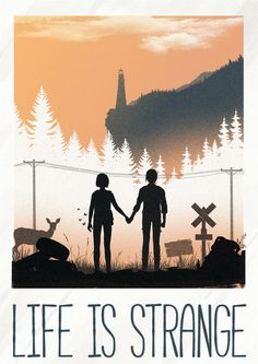 Life is Strange Poster - Felix Tindall Life Is Strange Wallpaper, Life Is Strange Fanart, Life Is Strange 3, Strange Art, Game No Life, Arcadia Bay, Video X, Star Citizen, Weird Art