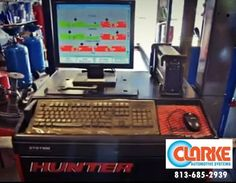 state of the art car diagnostics and repair from Clarke Auto Systems. #Tampa