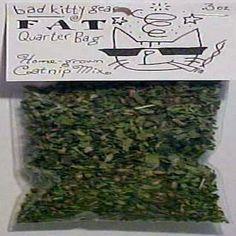 BAD KITTY FAT QUARTER BAG HOMEGROWN CATNIP  #BADKITTY