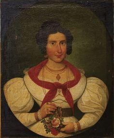 Designação: Retrato de Senhor e Retrato de Senhora, escola portuguesa séc. XIX (1ª metade)