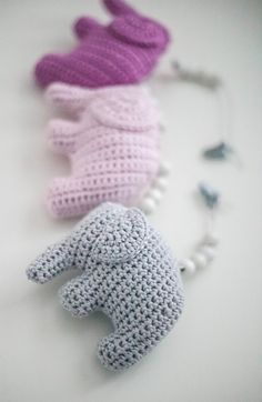 virkattu norsu Diy Crochet And Knitting, Love Crochet, Baby Knitting Patterns, Crochet Toys, Crochet Patterns, Little Elephant, Heart Patterns, Diy Projects To Try, Handicraft