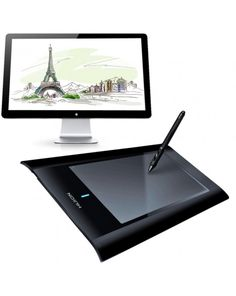HUION W58 Professional Wireless 8 x 5 inch 2048 Levels 5080 LPI Resolution Graphics Tablet Board with Digital Pen #0
