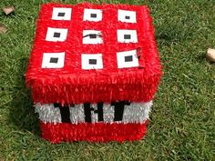 TNT pinata by Mylittlesofy on Etsy