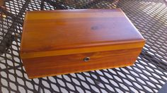 Vintage Lane Cedar Chest, Salesman Sampler, Knotty Pine, Cedar Lined Box