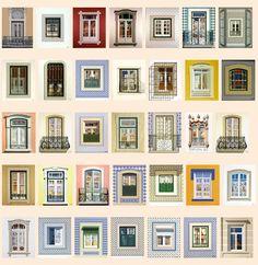 Maluda: janelas de Lisboa