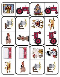 Farm Unit, Operation Christmas Child, Farm Theme, Farm Animals, Board Games, Preschool, Holiday Decor, Kids, Dominos