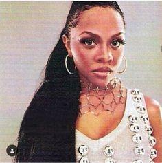 lil' kim during her la bella mafia era. Love N Hip Hop, Hip Hop And R&b, Hip Hop Fashion, 90s Fashion, Lil Kim 90s, Afro, Kimberly Jones, Black Girls, Black Women