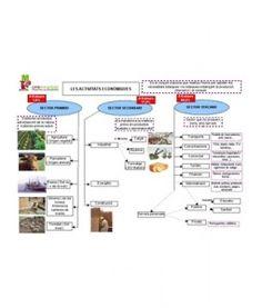 Mapa Conceptual Activitats Economiques. Són mapes per ajudar als mestres perquè tenguin els continguts estructurats i ordenats.