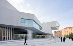 MAXXI Museum by Zaha Hadid Architects... conveniently right near the Mac service store in Rome.