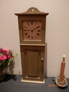 Youngs Shaker Wall Clock 1840 Reproduction