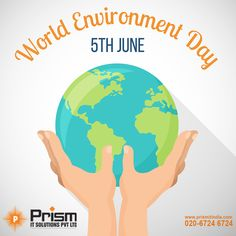 Prism IT Solutions Pvt Ltd Wishes A Green and Safe Environment Day. For Info About Tally and its Products visit: https://goo.gl/kWVGM1