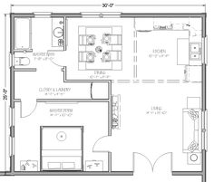 Ikea 600 sq ft home millennium apartments floor plan for Mother in law addition