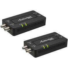 Actiontec - Bonded MoCA 2.0 Network Adapter 2-pack - Black