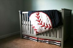 baseball crib bedding | Related search for this article: baseball nursery bedding, baseball ...