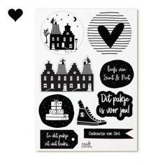Sinterklaas stickers set (15st)