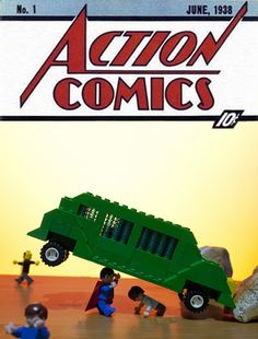 Action Comics # 1 Cover Recreation | Flickr - Photo Sharing!