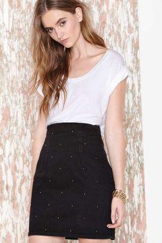 Total Stud Skirt