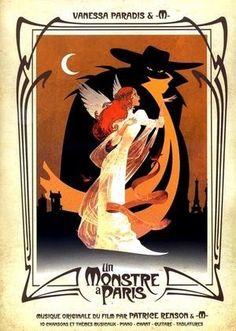 Vanessa Paradis / M - La Seine Vanessa Paradis, Disney Animated Movies, Disney Movies, Tour Eiffel, Dreamworks, La Belle Epoque Paris, Partition Piano, Paris Wallpaper, Paris Poster