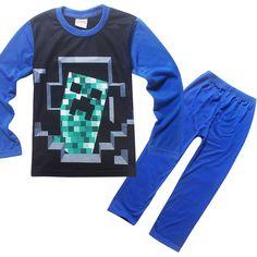 Hot Sale Boys Pyjamas Sets Long Sleeve Cartoon Printing Pijamas Infantil Boy Pajamas set For Baby Sleep Wear Clothing