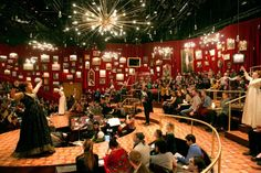 """Natasha, Pierre & The Great Comet of 1812"" @ American Repetory Theater  Mimi Lien"