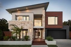 Facade house 49 most popular modern dream house exterior design ideas 18 How Long to Install a New R Facade Design, Architecture Design, Amazing Architecture, Contemporary Architecture, Contemporary Houses, Chinese Architecture, Architecture Office, Futuristic Architecture, Residential Architecture