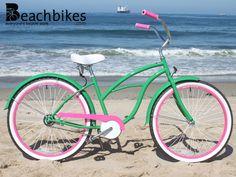 sixthreezero Limited Edition BRAVO TV'S Julia Allison WATERMELON Cruiser Bike