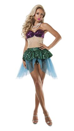 939fbb6bd6a Starline Sea Seductress Mermaid Costume Women s Costume - Nastassy  Halloween Dress