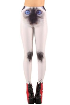 No, Thanks: The 30 Worst Possible Holiday Gifts #refinery29  http://www.refinery29.com/worst-gifts#slide10  Nope. We can already spot the cutesy little jokes you're going to make when you hand this over, and just no. Shut it down.  Iron Fist Siamese Cat Leggings, $15.50, available at Dolls Kill.
