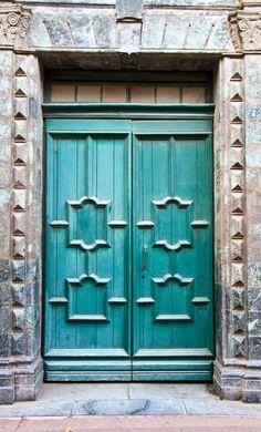Saint-Tropez ~ Var, France  Beautiful color and texture combination.