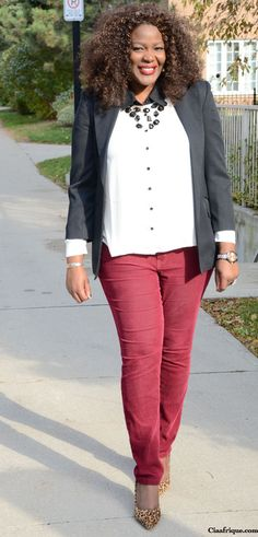 Plus Size Fall Outfit Ideas -