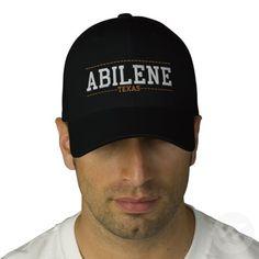 Abilene Texas USA Embroidered Hats