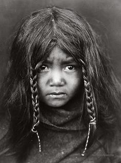 Quilcene boy. Head-and-shoulders portrait of child. United States. 1912-1913.