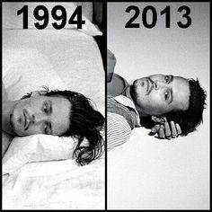 He defies time and transcends all else.     1994=31 and 2013=50