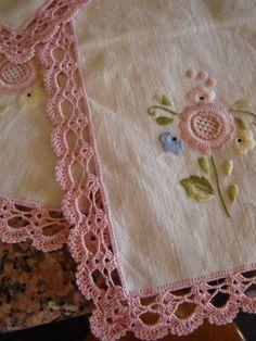 ✿⊱❥ Barrado de crochê ~ www.amostras de crochet.com | Publicada por Ana Maria Cunha