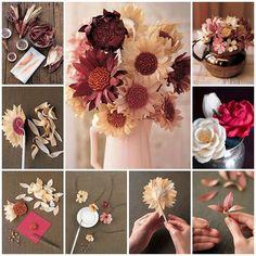 How to DIY Beautiful Corn Husk Flowers - Cool Creativity